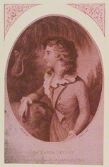 Anon : Elegy on the death of Miss Maria Linley : illustration