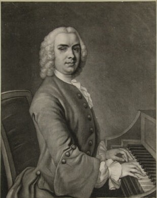 Stanley : Solo in G major Op. 4 no. 3 : illustration